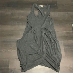 Silence and noise grey dress